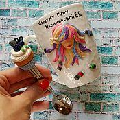 Посуда ручной работы. Ярмарка Мастеров - ручная работа Кружка парикмахеру. Handmade.