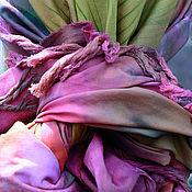 Аксессуары ручной работы. Ярмарка Мастеров - ручная работа Хлопковый батик саронг Из Африки. Handmade.