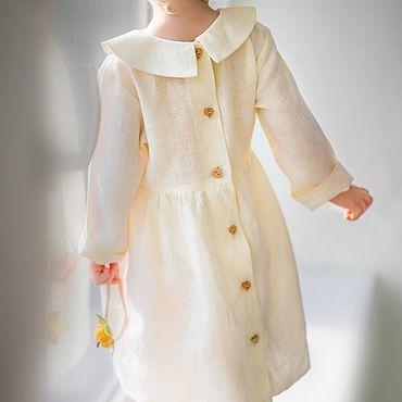 Работы для детей, ручной работы. Ярмарка Мастеров - ручная работа Крестильные рубашки Платье Мира для крещения белое. Handmade.