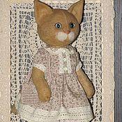 Куклы и игрушки ручной работы. Ярмарка Мастеров - ручная работа Кошечка Мила. Handmade.