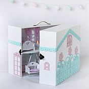 Куклы и пупсы ручной работы. Ярмарка Мастеров - ручная работа «Чудо-чемоданчик». Handmade.