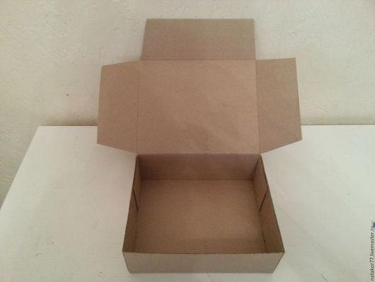 Персональные подарки ручной работы. Ярмарка Мастеров - ручная работа. Купить коробочка упаковочная. Handmade. Коричневый, коробочка для подарка