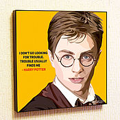 Картины и панно handmade. Livemaster - original item Painting Pop Art Harry Potter. Handmade.