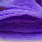 """Материалы для творчества ручной работы. Ярмарка Мастеров - ручная работа фатин """"ирис"""" сине-фиолетовый. Handmade."""