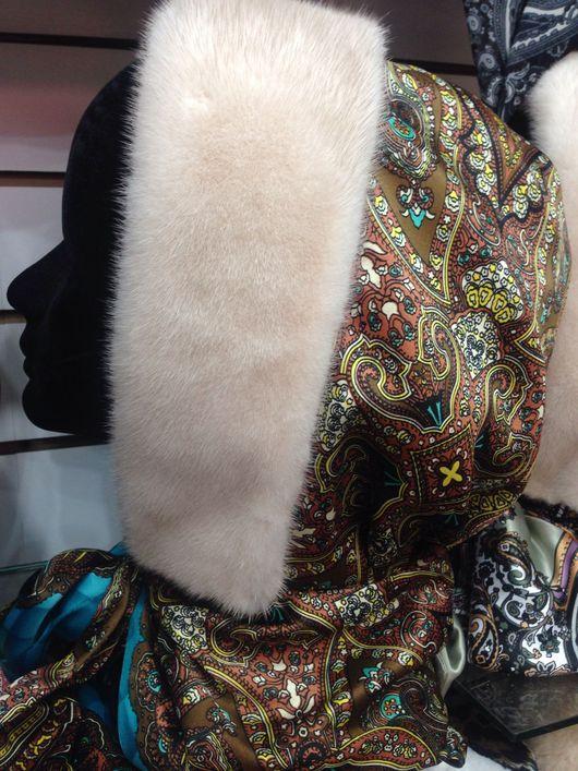 Шапки ручной работы. Ярмарка Мастеров - ручная работа. Купить зимний капюшон, капор с норкой. Handmade. Черный, натуральная ткань