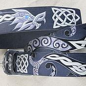 Аксессуары handmade. Livemaster - original item DRAGON CHARM strap leather. Handmade.