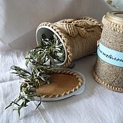 Для дома и интерьера ручной работы. Ярмарка Мастеров - ручная работа Банка для  сухих трав. Handmade.