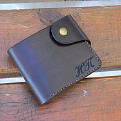Сумки и аксессуары handmade. Livemaster - original item Wallet mens leather.. Handmade.
