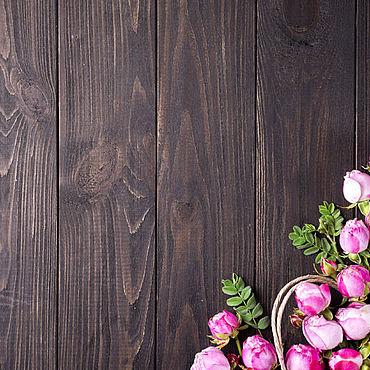 Дизайн и реклама ручной работы. Ярмарка Мастеров - ручная работа Фото: Фотофон виниловый Розовый шиповник.. Handmade.