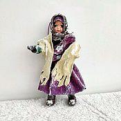 Сувениры и подарки handmade. Livemaster - original item Cotton Christmas toys: Peasant Girls. Handmade.