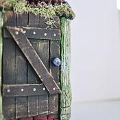 Для дома и интерьера ручной работы. Ярмарка Мастеров - ручная работа Мышиный домик. Handmade.