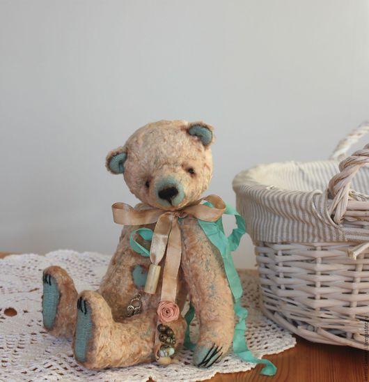 Мишки Тедди ручной работы. Ярмарка Мастеров - ручная работа. Купить Милый Май.. Handmade. Бежевый, медвежонок, плюш винтажный
