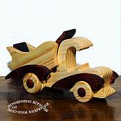 handmade. Livemaster - original item Waldorf toy. Truck made of wood