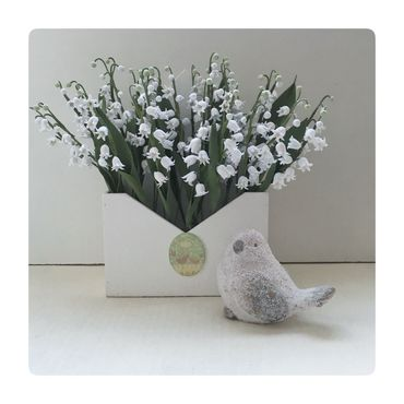 Flowers and floristry handmade. Livemaster - original item Lily of the valley Hello. Handmade.