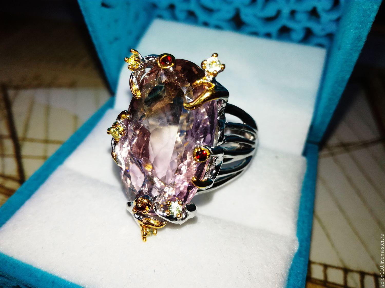 Ring 'Sofia' with ametrine, Rings, Voronezh,  Фото №1