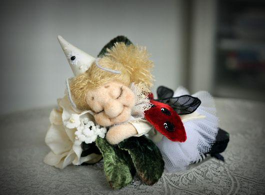 Коллекционные куклы ручной работы. Ярмарка Мастеров - ручная работа. Купить Антракт. Handmade. Комбинированный, шёлк