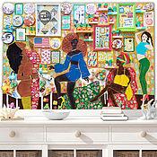 Картины и панно handmade. Livemaster - original item Sculptural painting, 3d Wall art contemporary pop art. Handmade.