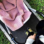 Для дома и интерьера ручной работы. Ярмарка Мастеров - ручная работа Плед детский в коляску. Handmade.