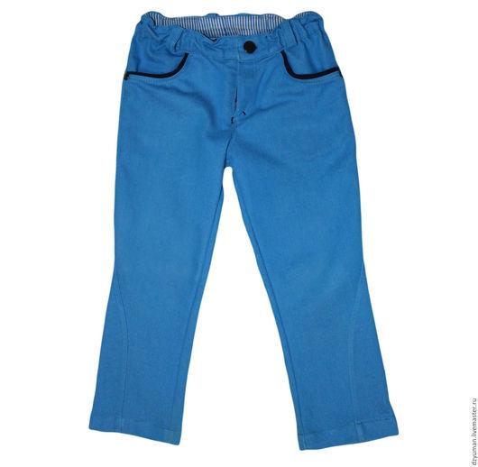 Одежда для мальчиков, ручной работы. Ярмарка Мастеров - ручная работа. Купить Джинсы для мальчика. Handmade. Синий, для садика