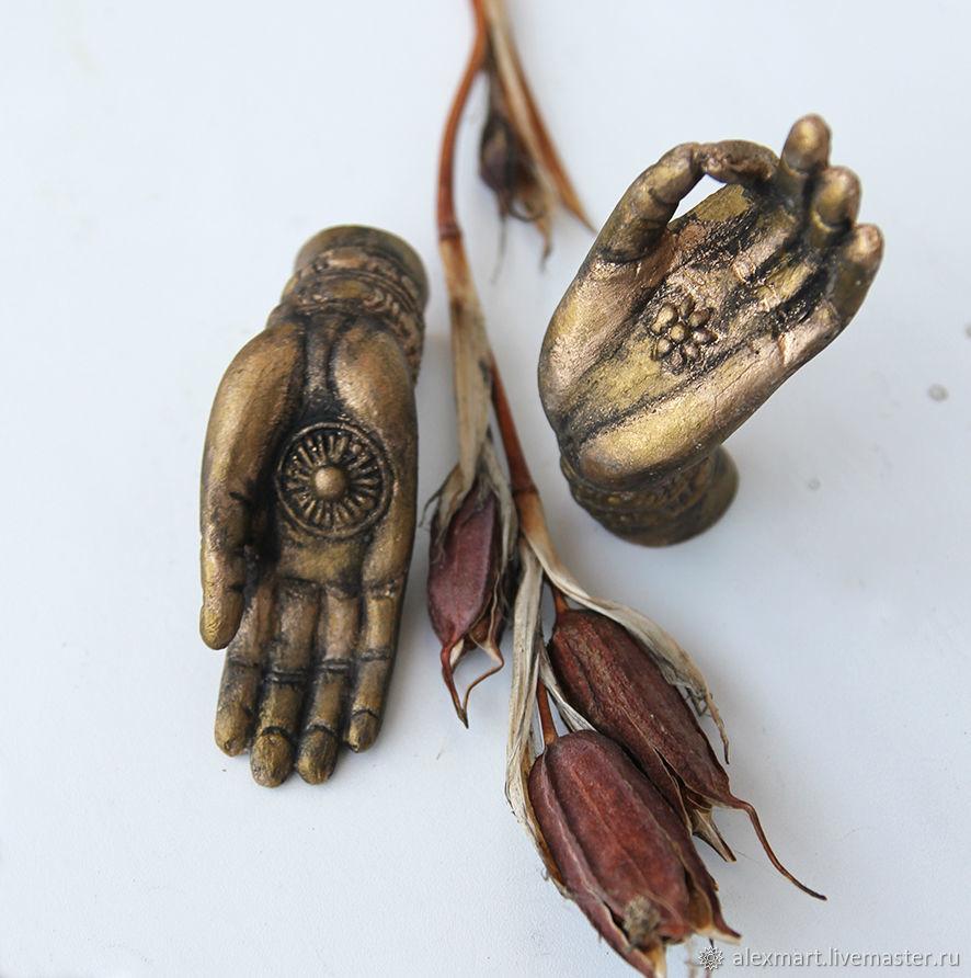 ' Golden hands', Figurine, Irkutsk,  Фото №1