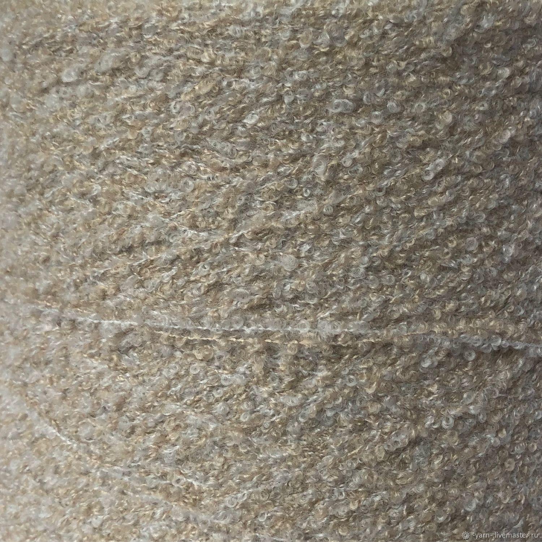 Пряжа Кашемир букле Bibo мулине – купить на Ярмарке Мастеров – LY6TKRU | Пряжа, Санкт-Петербург
