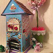 Для дома и интерьера ручной работы. Ярмарка Мастеров - ручная работа Чайный домик Dessert. Handmade.