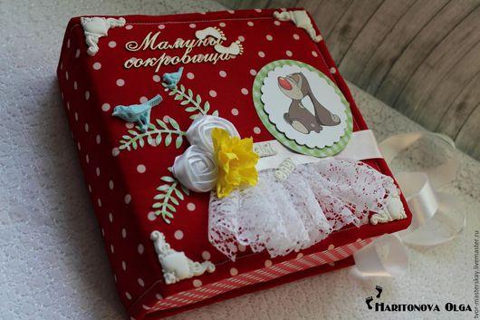 Подарки для новорожденных, ручной работы. Ярмарка Мастеров - ручная работа. Купить Мамины сокровища для девочки. Handmade. Мамины сокровища, выписка