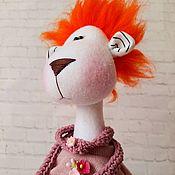 Куклы и игрушки handmade. Livemaster - original item The Lioness Klara. Handmade.