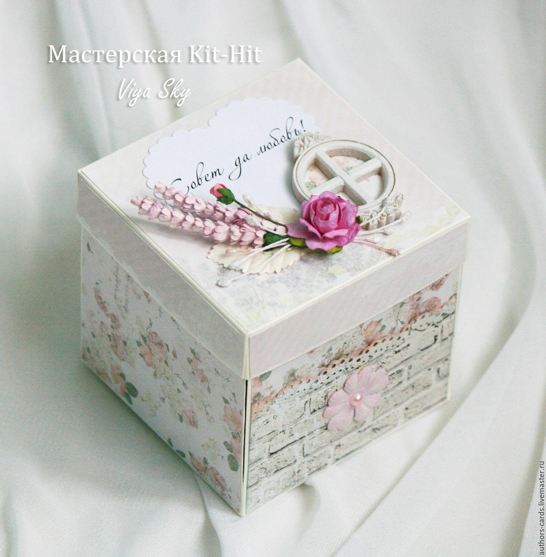 Схем подарочной коробочки