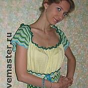 Одежда ручной работы. Ярмарка Мастеров - ручная работа Платье Лесная нимфа. Handmade.