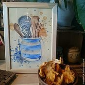 Картины и панно ручной работы. Ярмарка Мастеров - ручная работа Натюрморт для кухни. Handmade.