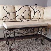 Для дома и интерьера handmade. Livemaster - original item Wrought iron bench. Handmade.