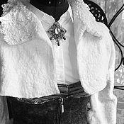 Одежда handmade. Livemaster - original item felted set: corset and Bolero. Handmade.