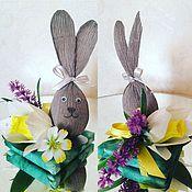 Пасхальные сувениры ручной работы. Ярмарка Мастеров - ручная работа Пасхальный заяц. Handmade.