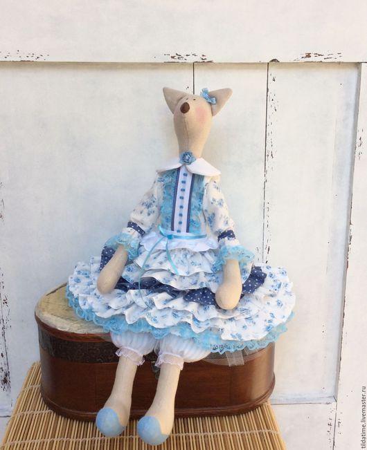 Куклы Тильды ручной работы. Ярмарка Мастеров - ручная работа. Купить Тильда Лисичка деревенская. Handmade. Тильда, ручная работа