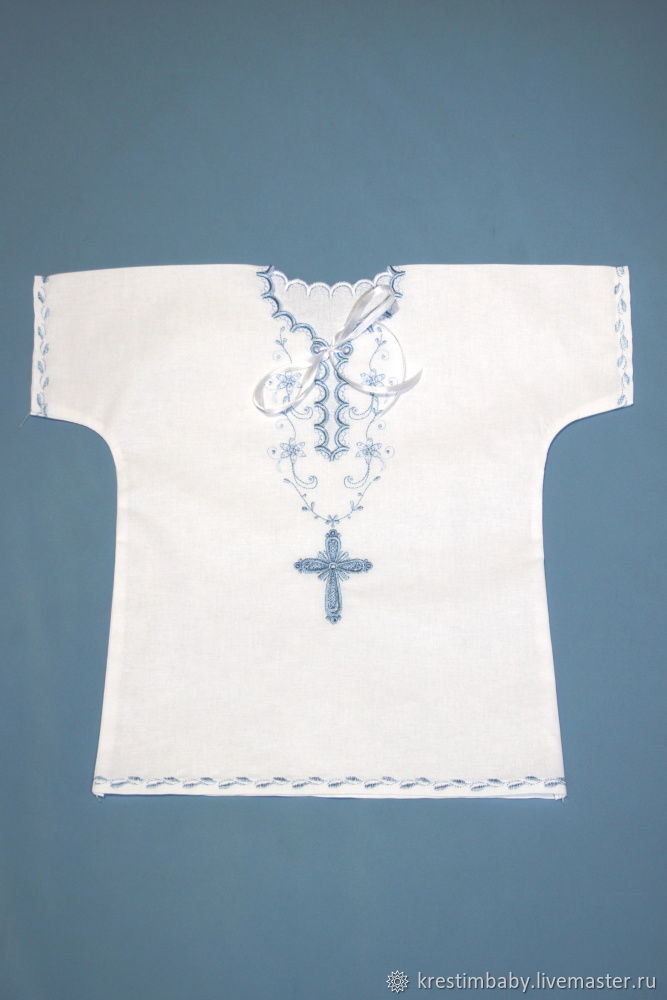 Simple baptismal shirt, Baptismal shirts, Moscow,  Фото №1
