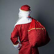 Одежда ручной работы. Ярмарка Мастеров - ручная работа Костюм Деда Мороза красный. Handmade.