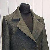 Одежда handmade. Livemaster - original item Short coat jacket overcoat fabric. Handmade.