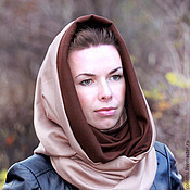 Аксессуары handmade. Livemaster - original item Snood-scarf