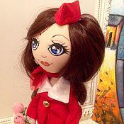 Куклы и игрушки ручной работы. Ярмарка Мастеров - ручная работа Стюардесса. Handmade.