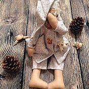 Куклы Тильда ручной работы. Ярмарка Мастеров - ручная работа Сплюшка Tilda Сонный ангел. Handmade.
