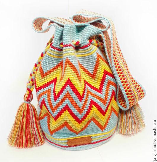 Женские сумки ручной работы. Ярмарка Мастеров - ручная работа. Купить Колумбийская сумка Mochila (Мочила) - 9 (мини). Handmade.
