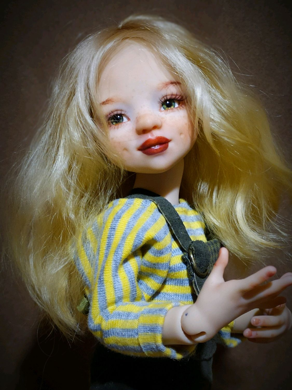 Шарнирная куколка Sunny Bunny молд ( Айка) Полиуретан. 25 см, Шарнирная кукла, Раменское,  Фото №1