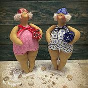 Куклы и игрушки ручной работы. Ярмарка Мастеров - ручная работа Толстушка Тильда. Handmade.