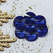 Материалы для творчества handmade. Livemaster - original item Glass rhinestones 12 mm Rivoli Sapphire. Handmade.