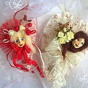 Куклы и игрушки ручной работы. Ярмарка Мастеров - ручная работа Девочки-сердечки. Handmade.