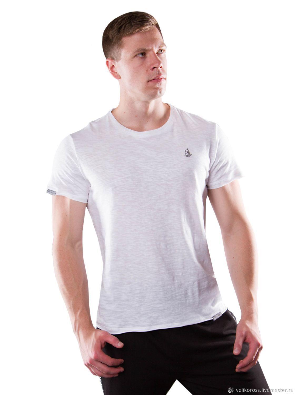 Мужская футболка «Великоросс» белого цвета, Футболки, Санкт-Петербург, Фото №1
