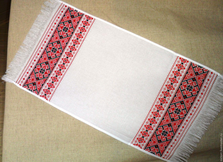 Вышивка русского полотенца 51