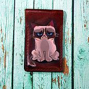 Сумки и аксессуары handmade. Livemaster - original item Business card holder
