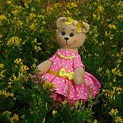 Куклы и игрушки ручной работы. Ярмарка Мастеров - ручная работа Медведица Ася. Handmade.